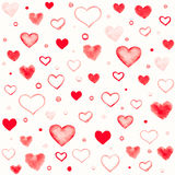 Teste padrão sem emenda romântico Foto de Stock Royalty Free
