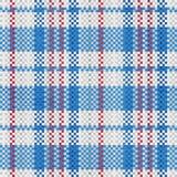 Teste padrão sem emenda tecido polipropileno na cor azul ilustração royalty free