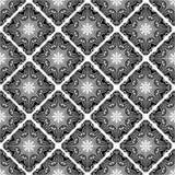 Teste padrão sem emenda Telha decorativa com árabe étnico, indiano do vintage, islâmico, motivos do otomano Ilustração do vetor, Fotografia de Stock