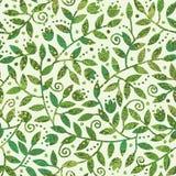 Teste padrão sem emenda Textured dos ramos coloridos Fotos de Stock