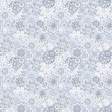 Teste padrão sem emenda tirado do mehendi mão floral Imagem de Stock