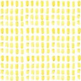 Teste padrão sem emenda tirado mão do ouro geométrico do retângulo Foto de Stock