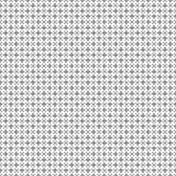 Teste padrão sem emenda transversal preto e branco Foto de Stock Royalty Free