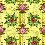 Teste padrão sem emenda tribal ilustração stock