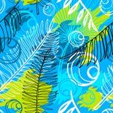Teste padrão sem emenda tropical do batik exótico étnico Coroful abstrato fotografia de stock royalty free