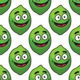 Teste padrão sem emenda verde do fruto de abacate Fotografia de Stock Royalty Free