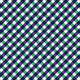 Teste padrão sem emenda verde e roxo de matéria têxtil Imagens de Stock