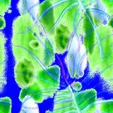 Teste padrão sem emenda verde tropical ilustração stock