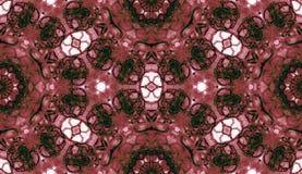 Teste padrão sem emenda vermelho Bub delicado atrativo do sabão ilustração stock