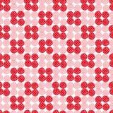 Teste padrão sem emenda vermelho da aquarela Projeto moderno de matéria têxtil Textura do papel de envolvimento Imagens de Stock