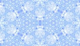 Teste padrão sem emenda violeta Bolhas de sabão delicadas amusing Ornamento tirado mão de matéria têxtil do laço Kaleidosco imagem de stock royalty free