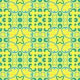 Teste padrão simétrico sem emenda, textura imagens de stock