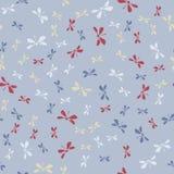 Teste padrão simples bonito para a matéria têxtil feminino Vetor da textura das mulheres sem emenda Libélula Imagem de Stock Royalty Free