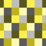 Teste padrão simples da geometria com linha erva-benta Imagem de Stock