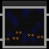 Teste padrão simples do fundo da cerca de fio ilustração do vetor