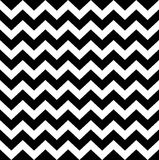 Teste padrão simples do ziguezague Fotos de Stock Royalty Free