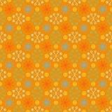 Teste padrão simples e brilhante do verão com flores Foto de Stock