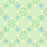 Teste padrão simples e limpo da mola com flores Foto de Stock Royalty Free