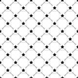 Teste padrão simples sem emenda com estrelas Imagem de Stock
