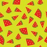 Teste padrão suculento da melancia Imagem de Stock