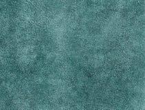 Teste padrão sujo ciano da camurça fotos de stock