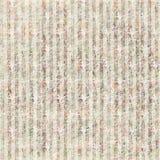 Teste padrão sujo do papel de parede floral do vintage com listras imagens de stock