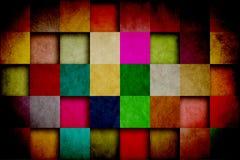 Teste padrão sujo retro do papel de parede Foto de Stock Royalty Free