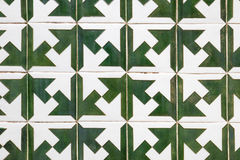 Teste padrão típico das telhas do português fotos de stock royalty free