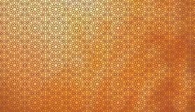 Teste padrão típico islâmico na cor Mashribiya- do ouro 21 de julho de 2017 Fotos de Stock Royalty Free