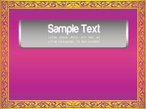 Teste padrão Tailândia do quadro Imagens de Stock