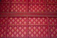 Teste padrão tailandês Fotografia de Stock Royalty Free