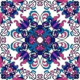 Teste padrão tailandês da arte Ornamento sem emenda floral oriental Mão colorida vetor tirado Fotos de Stock