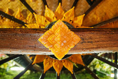 Teste padrão tailandês do close up Fotografia de Stock