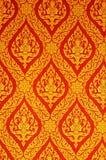 Teste padrão tailandês do estilo Fotografia de Stock Royalty Free