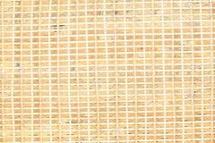 Teste padrão tecido da palha Imagens de Stock