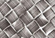 Teste padrão tecido diagonal Imagens de Stock Royalty Free