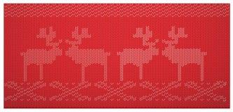 Teste padrão tecido escandinavo Fotos de Stock