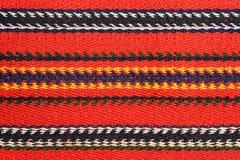 Teste padrão tecido mão do kilim Fotografia de Stock Royalty Free