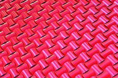 Teste padrão tecido telhado Fotografia de Stock Royalty Free