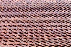 Teste padrão telhado do fundo do telhado Fotografia de Stock