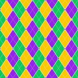 Teste padrão temático do carnvil de Brzil Foto de Stock Royalty Free