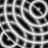 Teste padrão/textura monocromáticos desvanecidos Defocused Vagabundos abstratos da op-arte ilustração stock