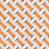 Teste padrão trançado do weave, fundo cinzento Imagem de Stock Royalty Free