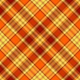 Teste padrão transversal yellow-orange sem emenda ilustração do vetor