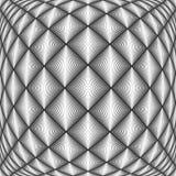 Teste padrão trellised do projeto diamante sem emenda Fotos de Stock
