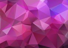 Teste padrão triangular abstrato abstrato Fotos de Stock