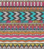 Teste padrão tribal ilustração royalty free