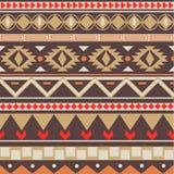 Teste padrão tribal Foto de Stock