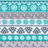 Teste padrão tribal abstrato Imagem de Stock Royalty Free