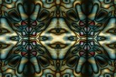 Teste padrão tribal abstrato Imagens de Stock